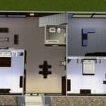 Modern House Floor Plans Sims Mod Abode