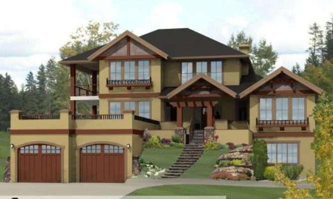 Modern House Garage Dream Cottage Blueprints