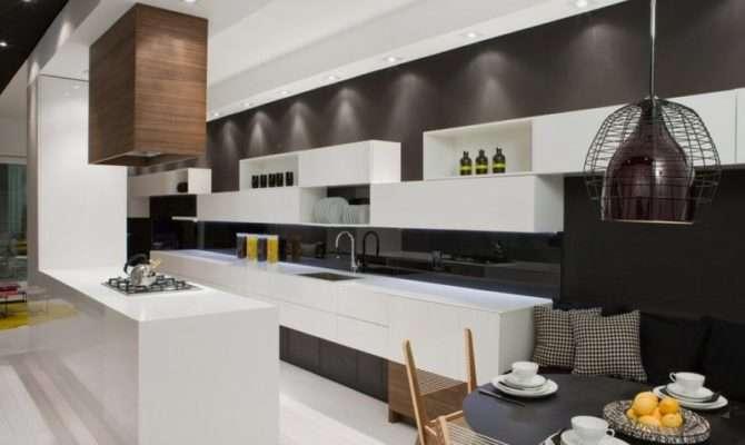 Modern House Interior White Black Theme Trinity