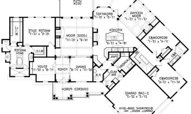 Modern House Plans Blueprints Apartments Design