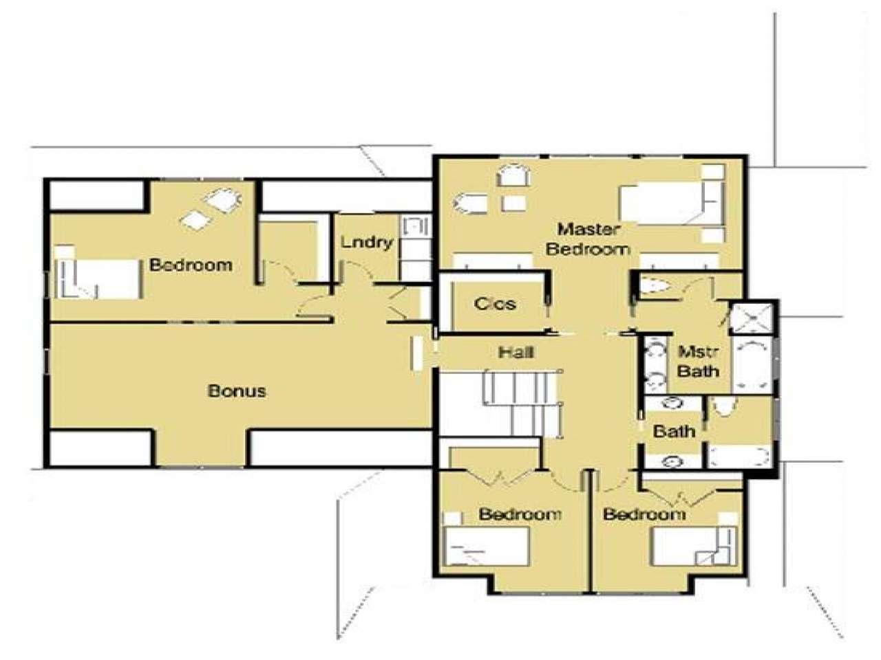 Modern House Plans Bungalow Plan