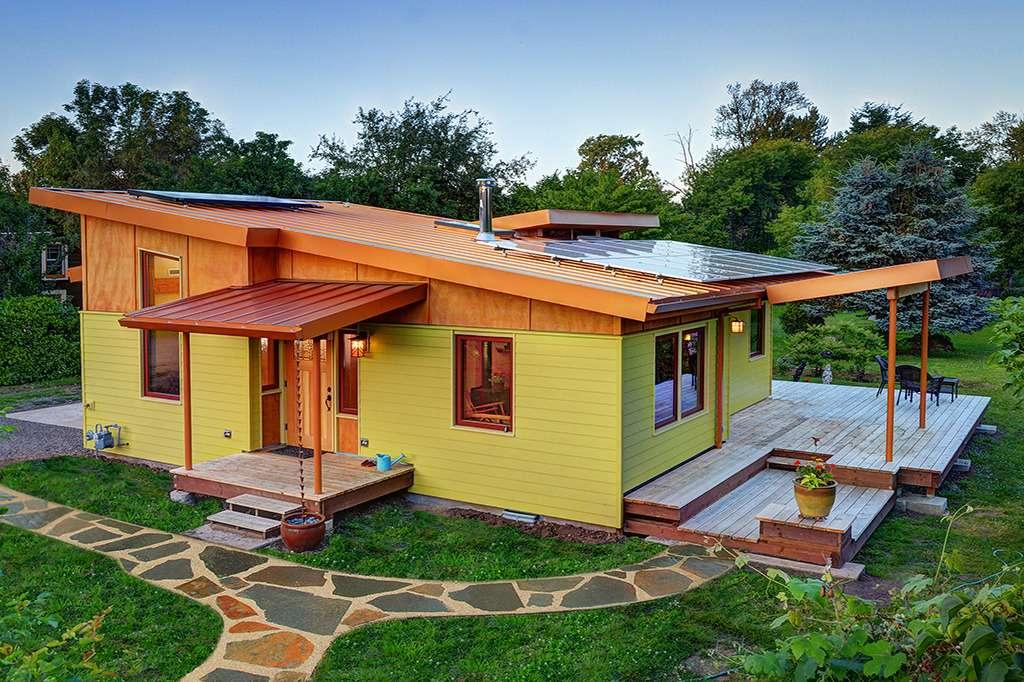Modern House Plans Cabin Plan