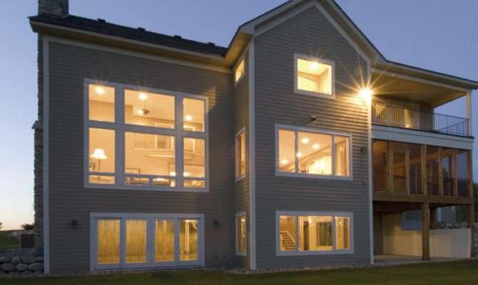 Modern House Plans Rear Woodguides
