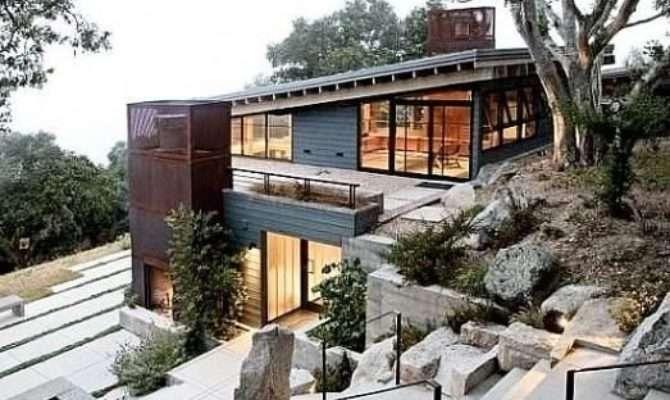 Modern House Plans Sloped Lots Fresh Best Steep