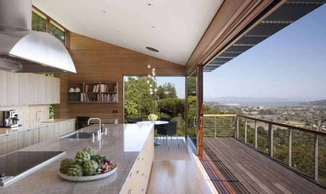 Modern House Plans Tamalpais Hillside Residence Large
