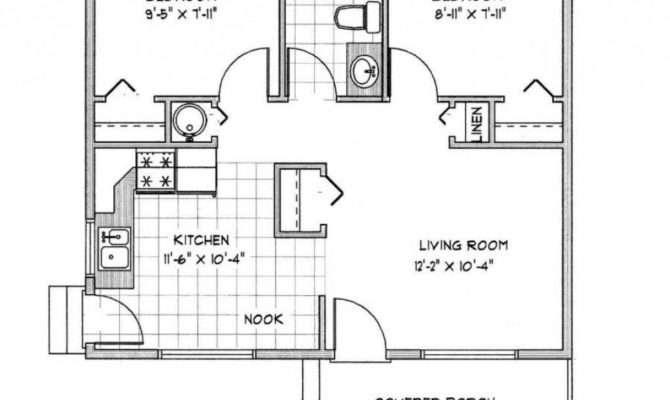 Modern House Plans Under Beautiful