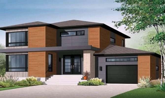 Modern House Plans Underground Garage Youtube