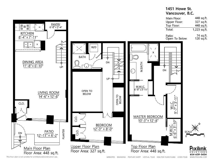 Modern Loft Townhouse Vancouver Small Space Solutions