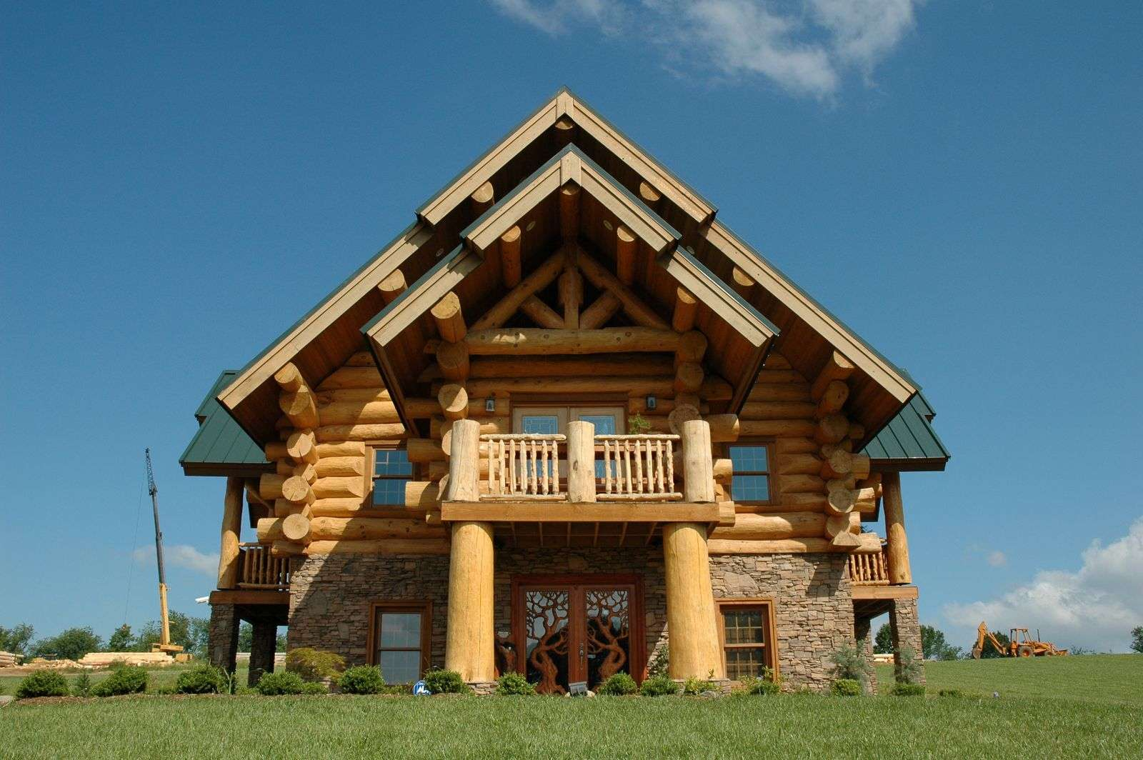 Modern Log Cabins Plans Hearthstone Homes