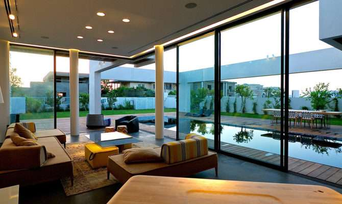 Modern Luxury Villas Designed Gal Marom Architects