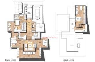 Modern Mansion Floor Plans House Plan