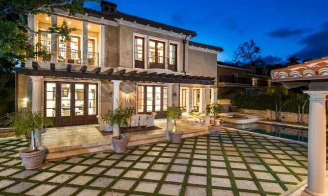 Modern Mediterranean Home Beverly Hills