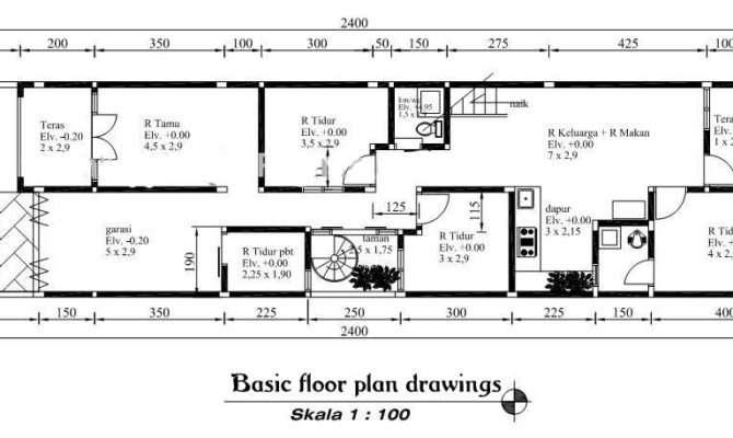 Modern Minimalist House Floor Plans Room Interiors