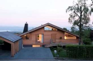 Modern Minimalist Swiss Chalet Most Beautiful Houses World