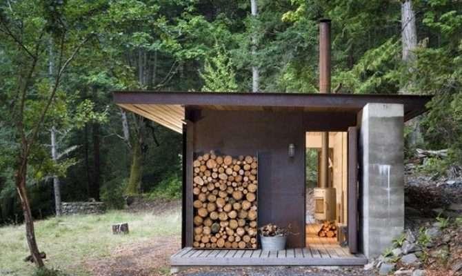Modern One Room Cabin