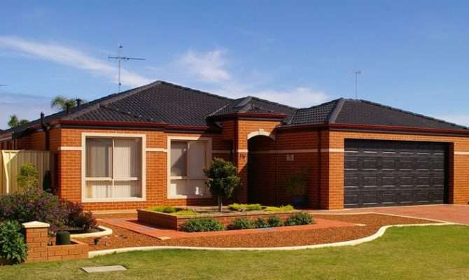 Modern One Story Homes Single Storey House Plans