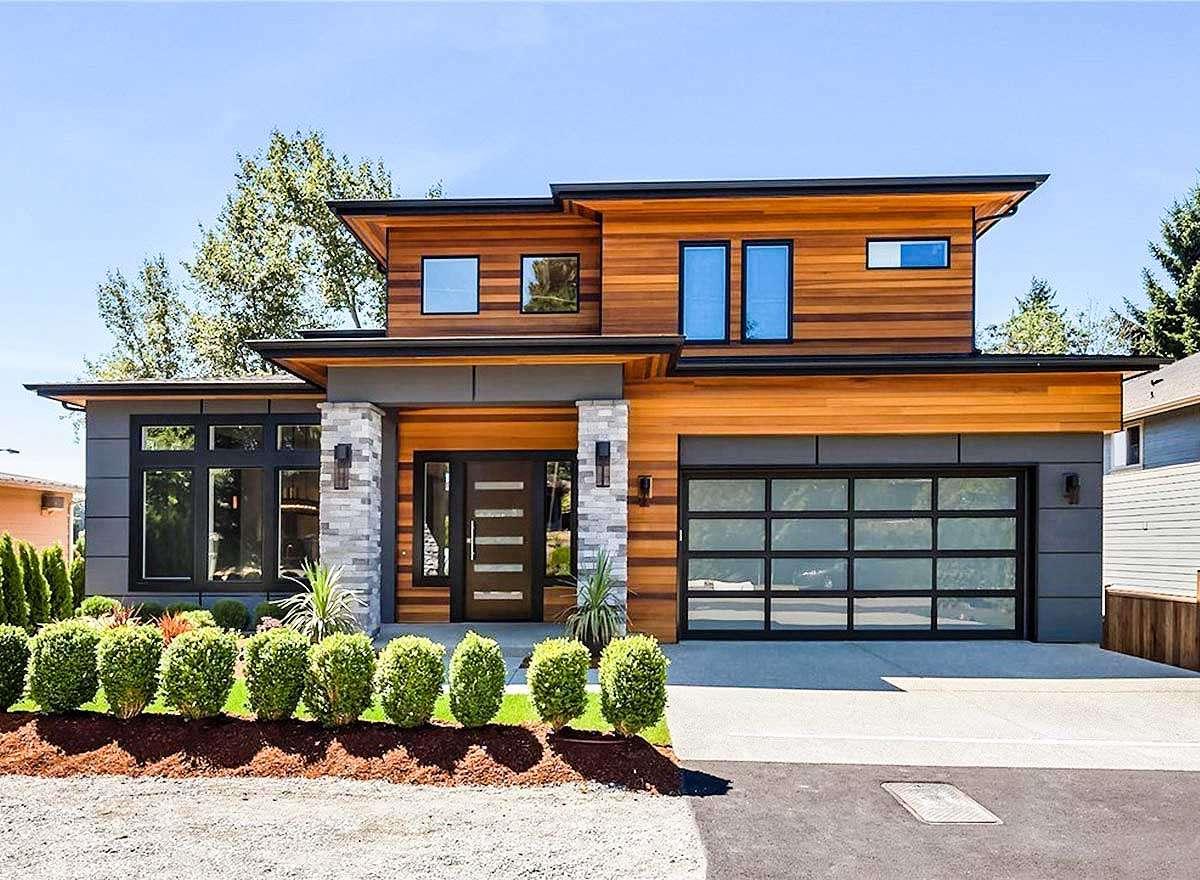 Modern Prairie House Plan Tri Level Living