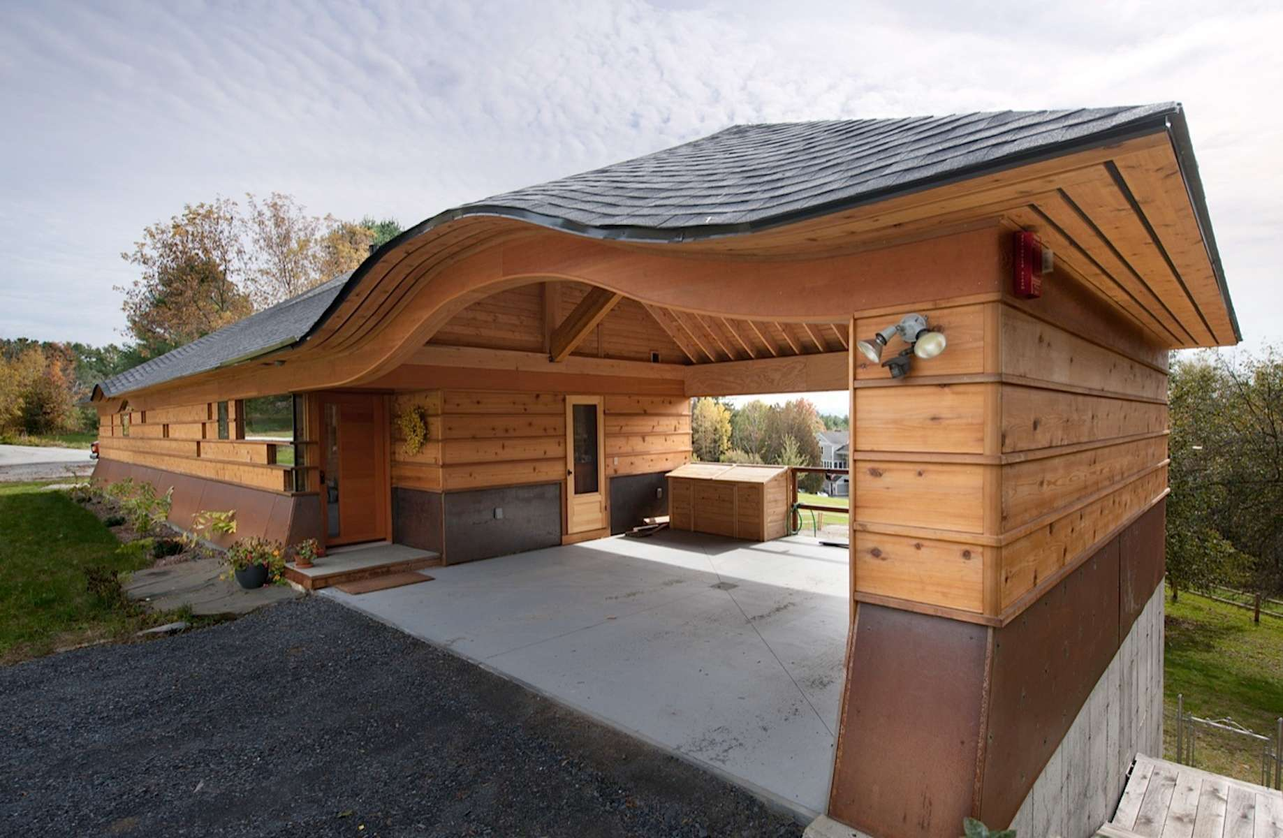 Modern Prairie Style House Arts Crafts