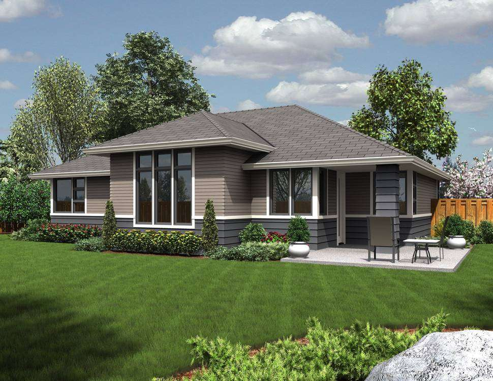 Modern Ranch Style House