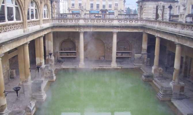 Modern Roman Bath Houses House