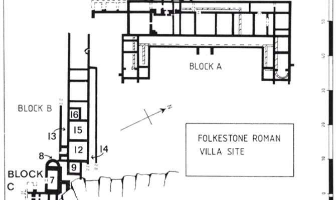 Modern Roman Villa Floor Plan