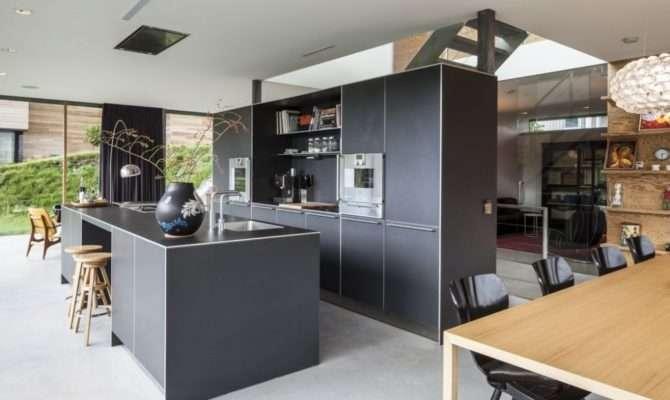 Modern Rural Home Kitchen Interior Design Ideas