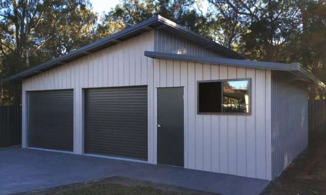 Modern Shed Roof Garage