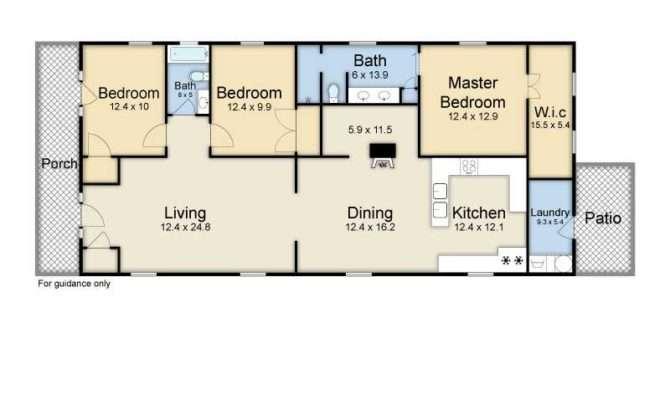 Modern Shotgun House Floor Plans Floorplans Nola Kim