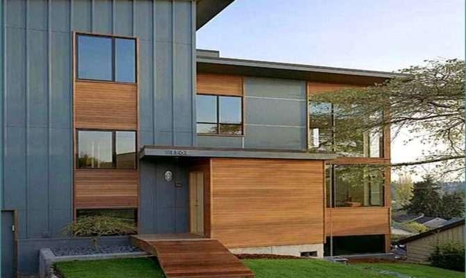 Modern Siding House Ideas Home Design
