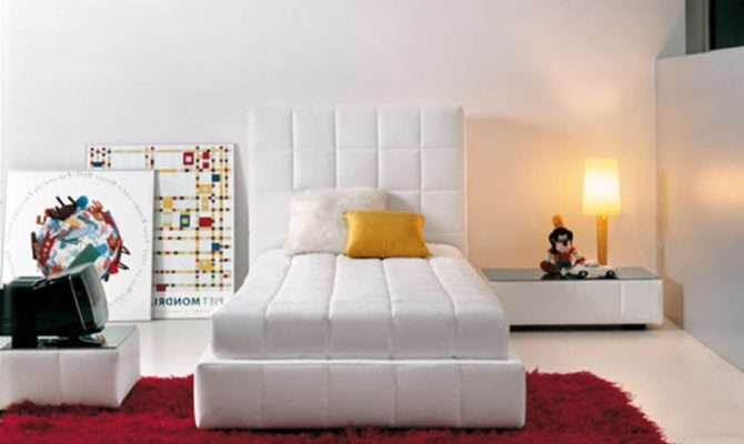 Modern Single Bed Designs Zero Decor Fresh Bedrooms