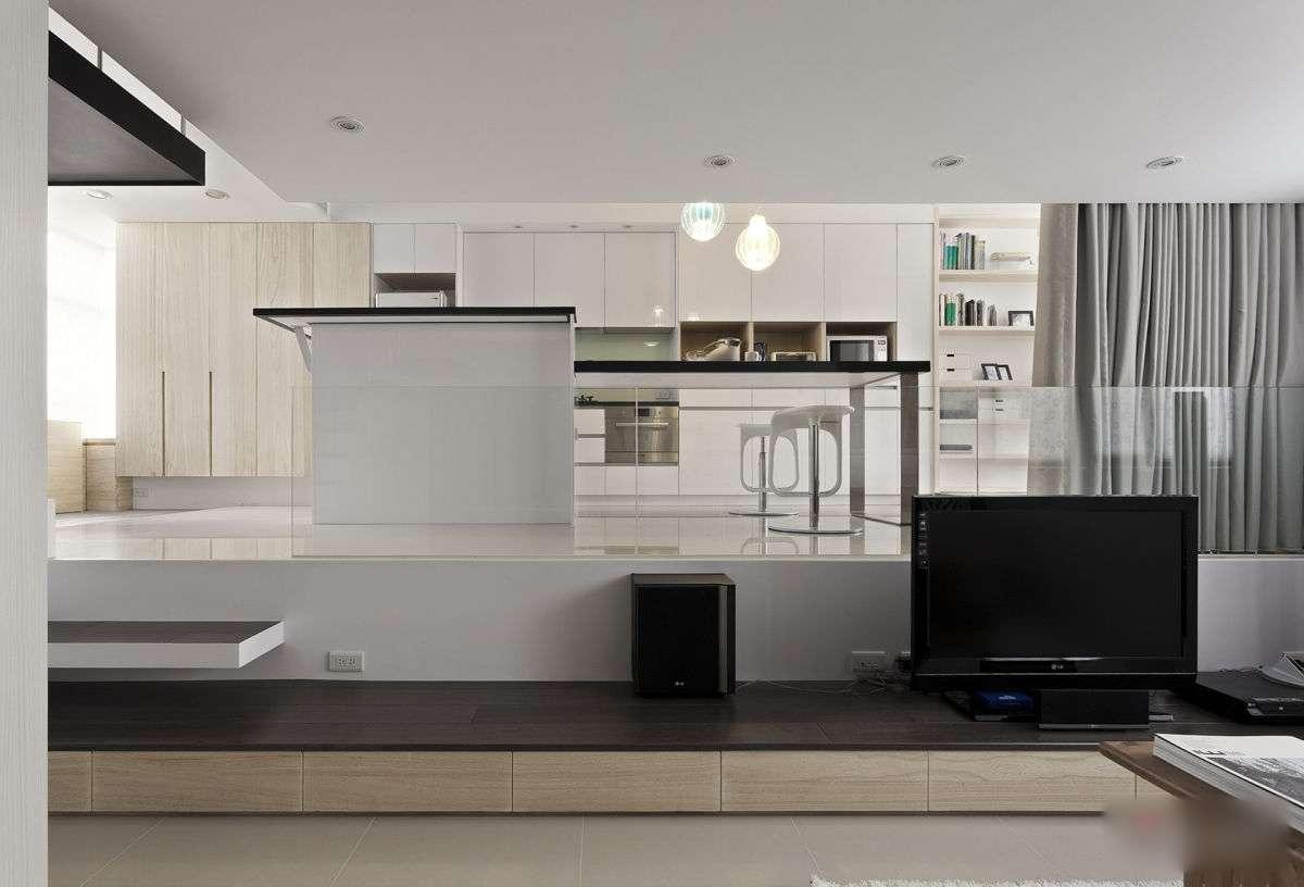 Modern Small Apartment Open Plan Loft Bedroom Idesignarch