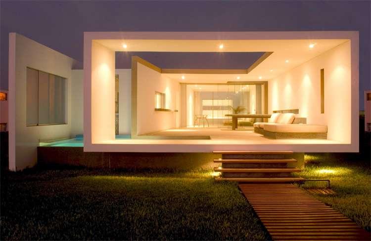 Modern Small Beach House Design Peru Javier Artadi Arquitecto