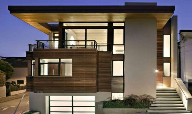 Modern Small Contemporary House Architectural Designs