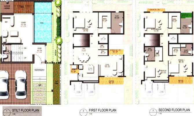 Modern Small House Floor Plan Designs