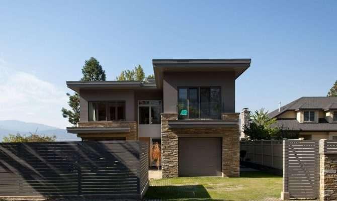 Modern Stone Exterior Interior Design Ideas