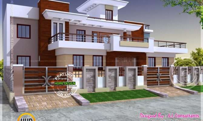 Modern Style India House Plan Kerala Home Design