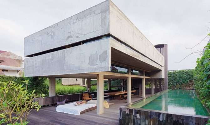 Modern Tropical Home Indonesia Living Asean
