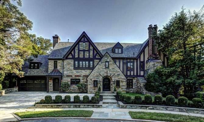 Modern Tudor Style House Home
