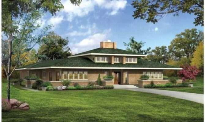 Modern Twist Classic Prairie Style House