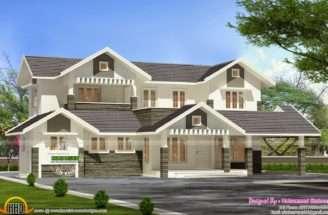 Modern Villa Plan Kerala Home Design Floor Plans