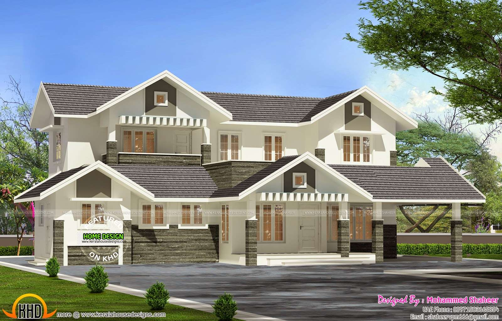 Modern Villa Plan Kerala Home Design Floor Plans