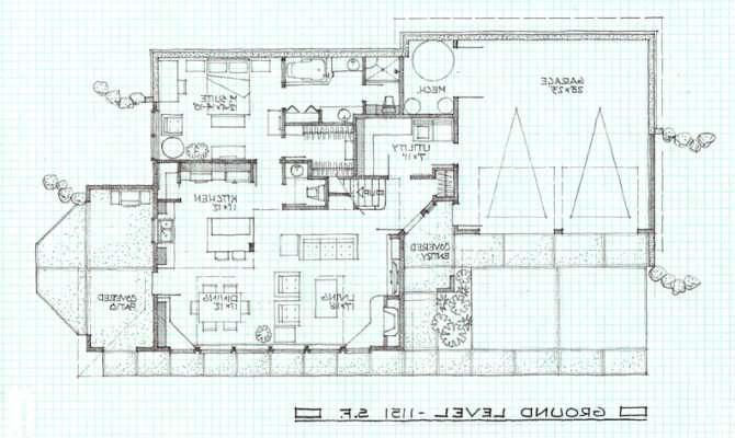 Modern Zero Energy House Plan