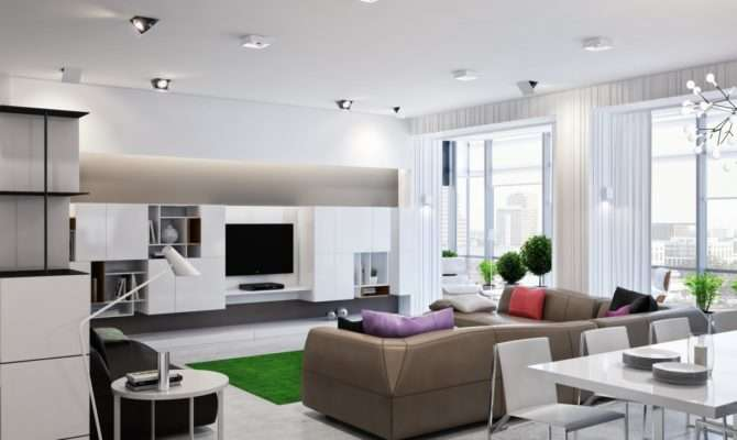 Modern Zoning Ukrainian Apartment