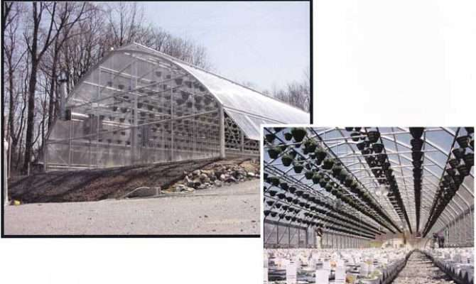 Modified Gothic High Tunnel Greenhouse