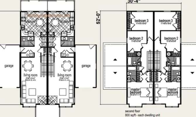 Modular Duplex Floor Plans Thefloors