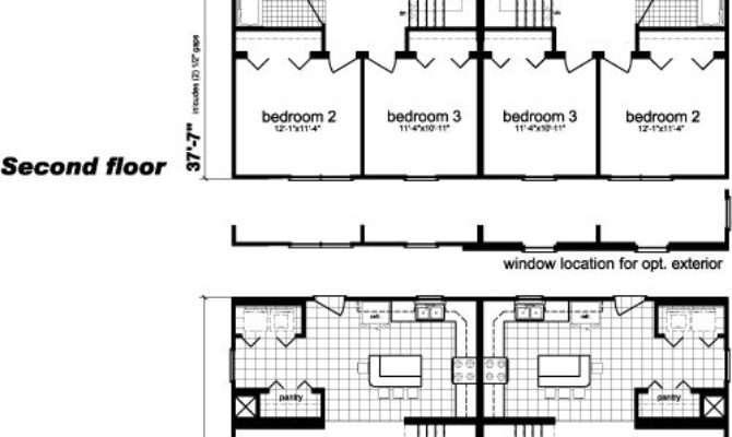 Modular Duplex Homes Plans Home Plan