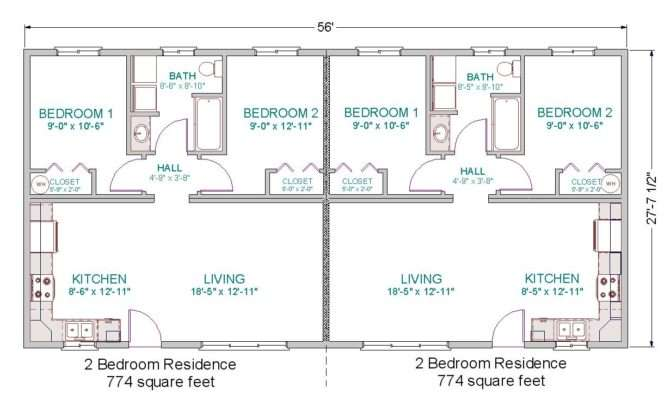 Modular Duplex Tlc Homes