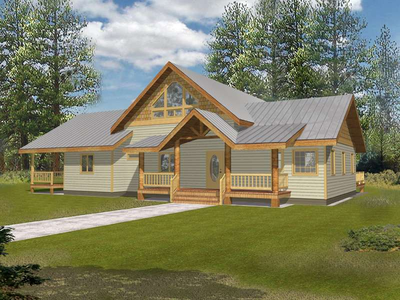 Molina Hill Rustic Country Home Plan House Plans More