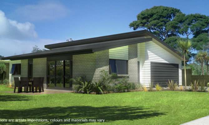 Mono Pitch Roof Design House Plans