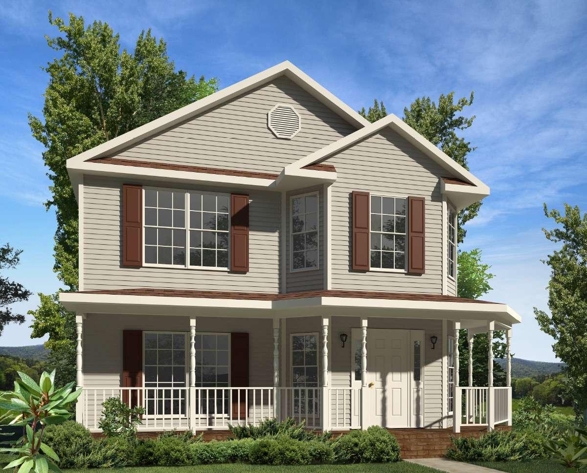 Monroe Two Story Style Modular Homes